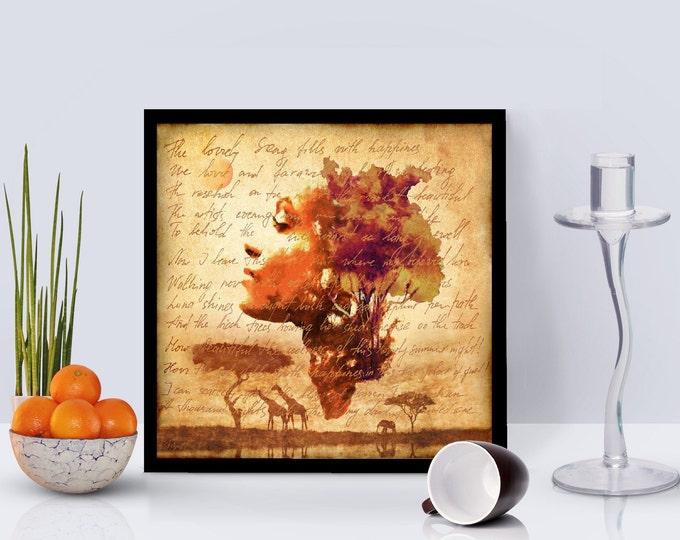 Mother Earth Framed Poster