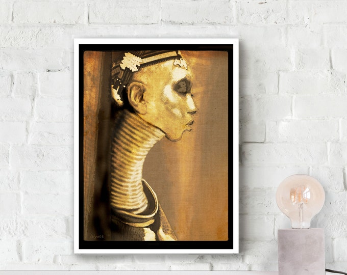 Ndebele Tribal Woman Photo Poster