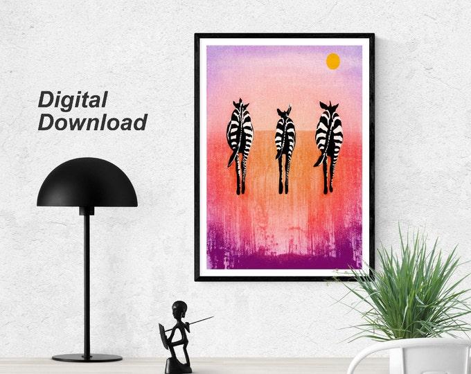 Zebras Instant Download