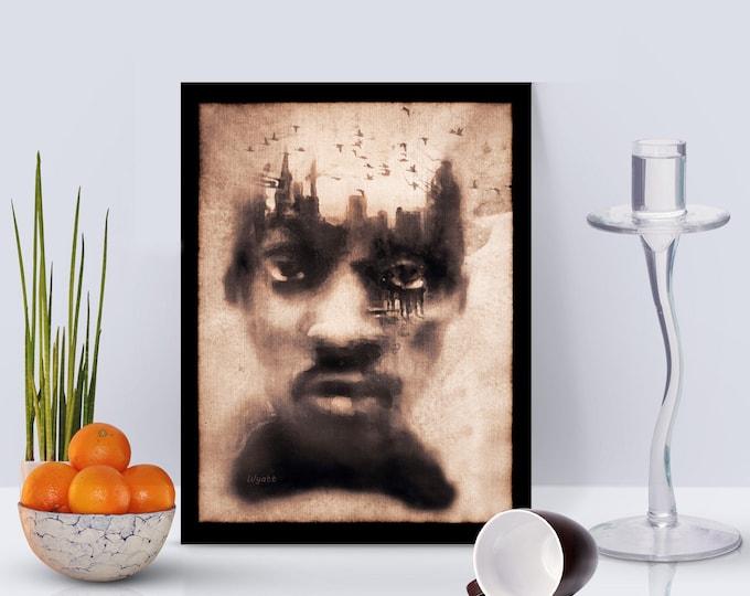 Urban Mindset Framed Poster