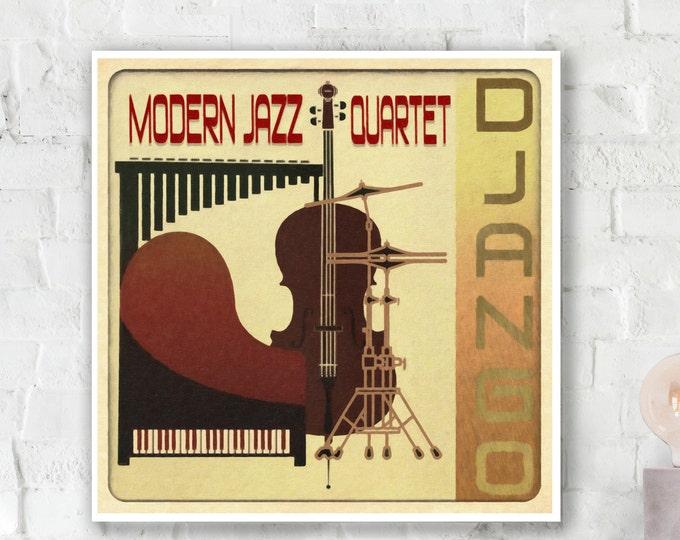 Modern Jazz Quartet - Django Poster