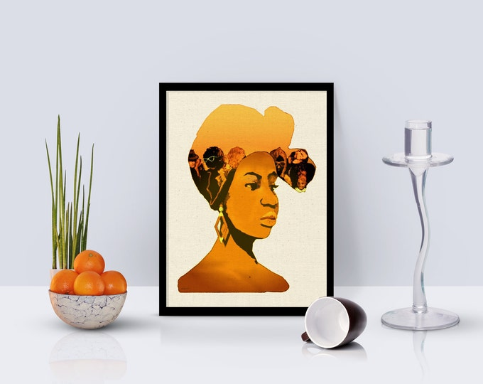 People In My Head - Golden Girl Framed Poster