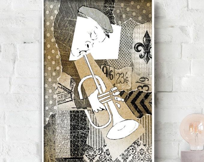 Trumpet Man No. 2 Poster