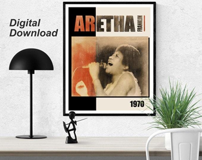Aretha Franklin Instant Download