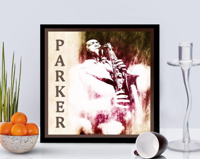 Charlie Parker Framed Poster