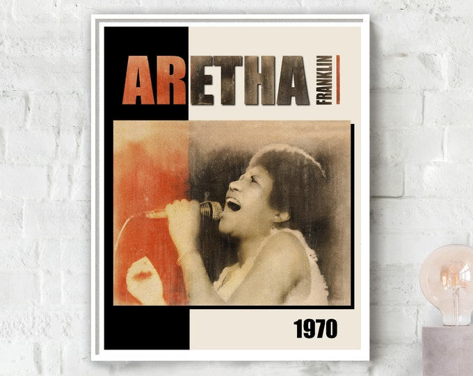 Aretha Franklin  Photo Poster