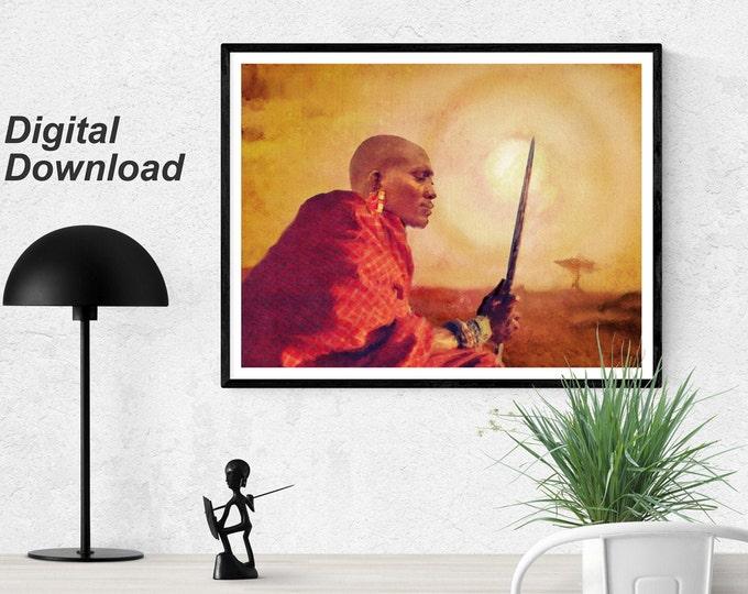 Maasai Instant Download