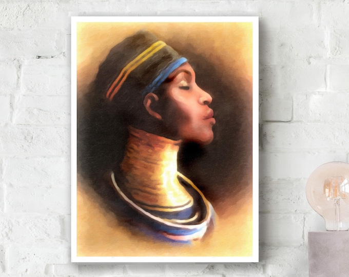 African Queen - Ndebele Woman 2