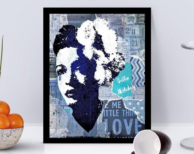 Billie Holiday Framed Poster