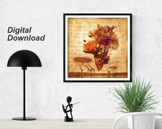 Mother Earth Instant Download