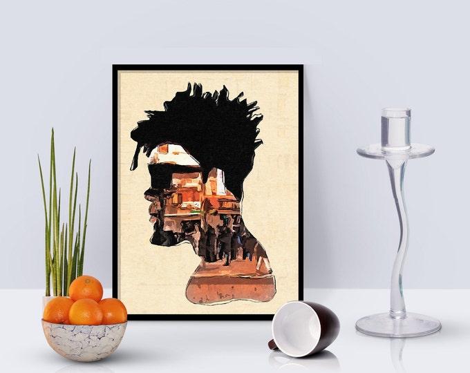 City Man Framed poster