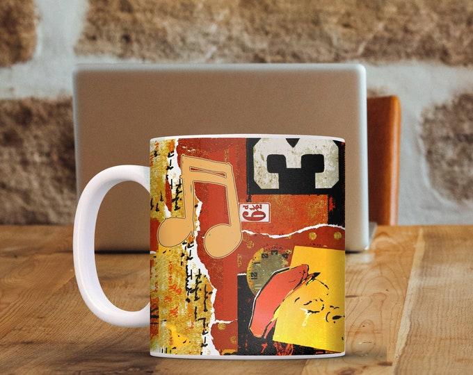 Trumpet Man Mug 11 oz & 15 oz