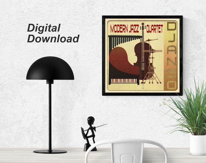 Modern Jazz Quartet - Django Instant Download