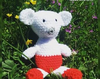 Teddy bear a crochet