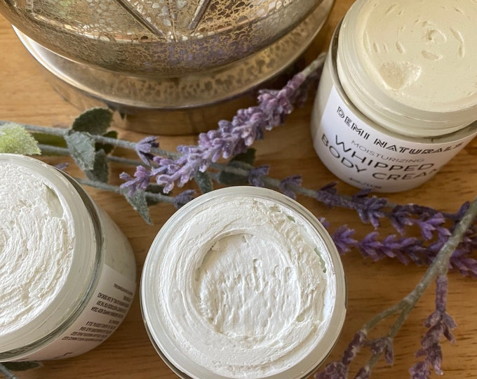 Whipped body butter| Lavender