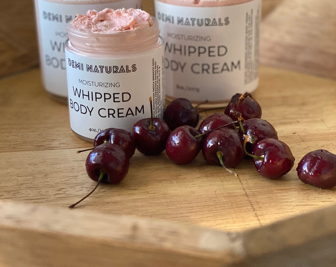 Whipped Body Butter| Cherry Almond
