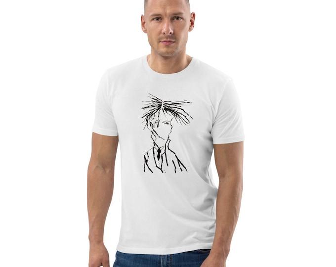 Unisex organic cotton t-shirt, Art T-Shirt, Art Clothes, Music T-Shirt, Marachowska Art