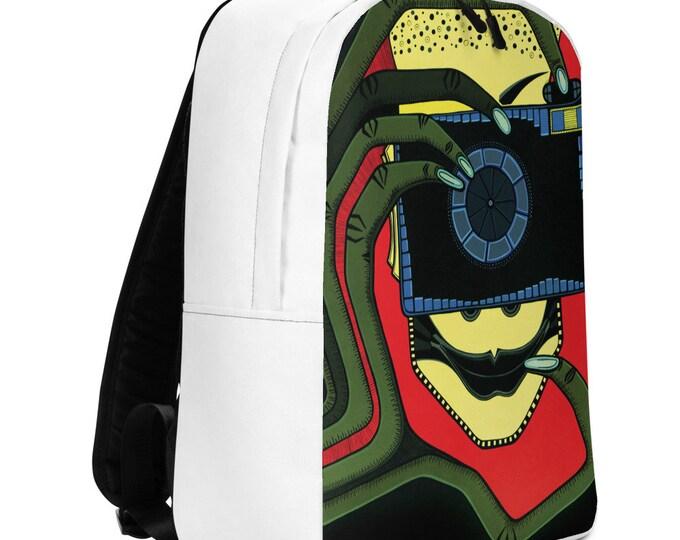 Minimalist Backpack, Art Backpack, Art, Marachowska Art