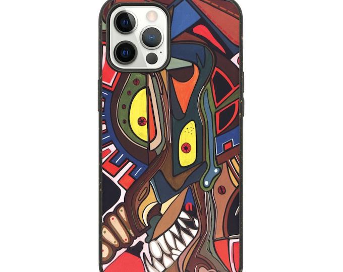 Biodegradable phone case Wicked Pinocchio, Marachowska Art
