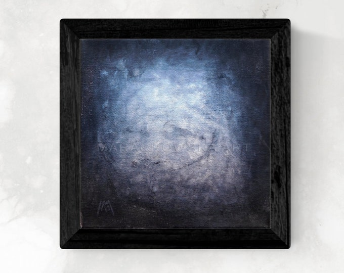 Horror Painting Black White, Portrait Horror Painting, Man Painting Horror, Dark Art Portrait, Portrait Painting Dark, by Maria Marachowska