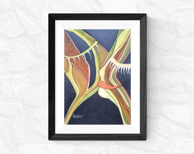 Love Kiss Painting, Watercolor Painting Kiss, Framed Love Painting, Original Painting Kiss, Love Artwork, Love, Kiss, by Maria Marachowska