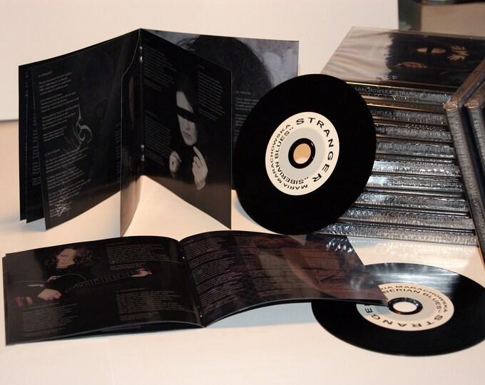 Album Stranger, Music Cd, Singer-Songwriter, Blues Rock, Maria Marachowska, Siberian Blues, Music Album, Acoustic Music