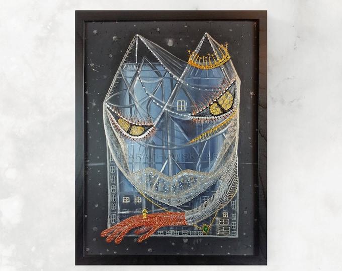 Royal Cat Painting