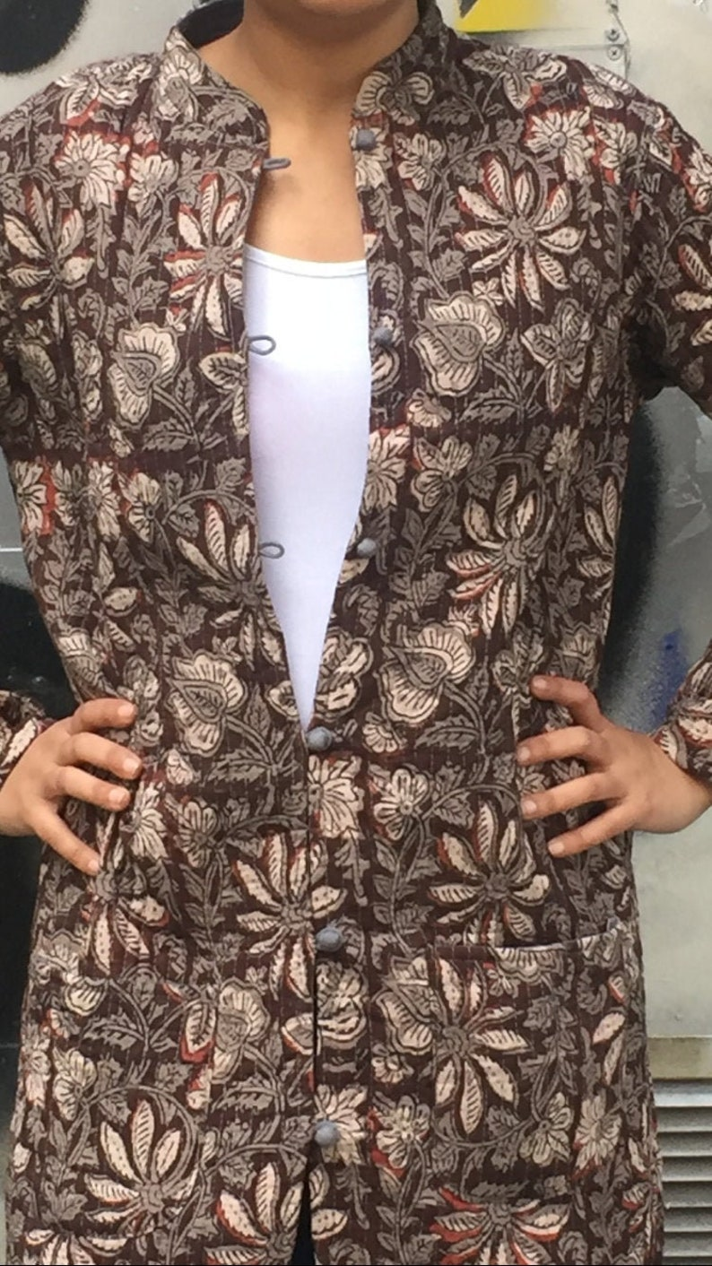 Handmade jacket,Cotton quilted jackets,Block print jackets,Gifts for her,boho jackets,Indian jackets