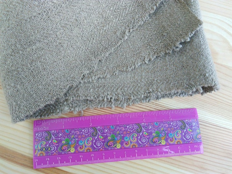 Homespun linen vintage Rough homespun fabric Antique homespun cloth Hand loomed cloth Antique grain Sack linen Organic cloth Made in Ukraine