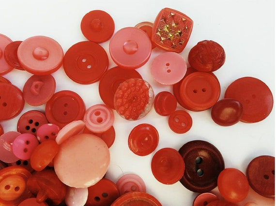 Big Button Lot for Sewing and Crafting