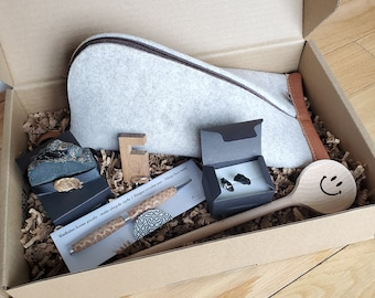 Slovenia Box / Gift Box / Handmade / Wood / Coal / Gift for Her / Unique Valentine's Day gift
