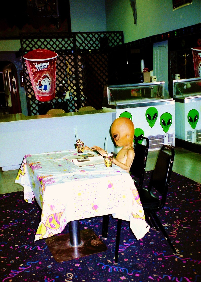 Happy Birthday To Me Party Alien Roswell New Mexico Etsy