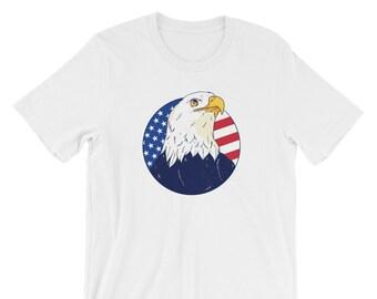 454f9105 American eagle tee   Etsy