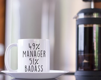 Manager Gift For Christmas Idea Men Women Birthday Coffee Mug