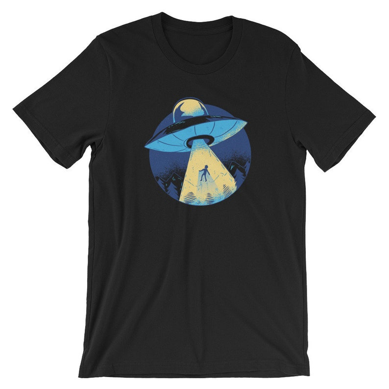 a99036fdf6495 Alien Abduction Shirt - UFO Tee Aliens TShirt Invader Abduction T-Shirt  Alien Gifts Alien Lovers Alien Clothing UFO T Shirt