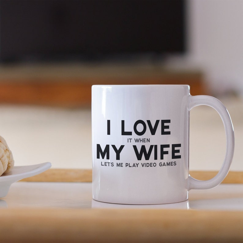 Husband Gamer Gift Video Game Mug Christmas For Men