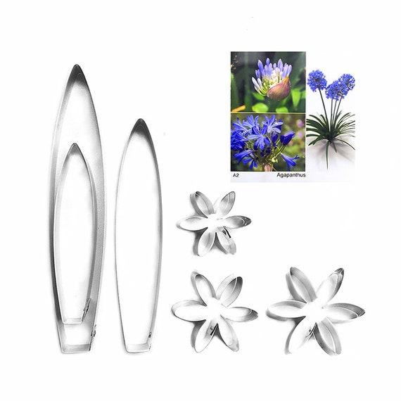 fondant cutter Phalaenopsis Full Set Cutters,Clay flower cutters Clay tools,sugar flower Sugarcraft cutters,fondant molds