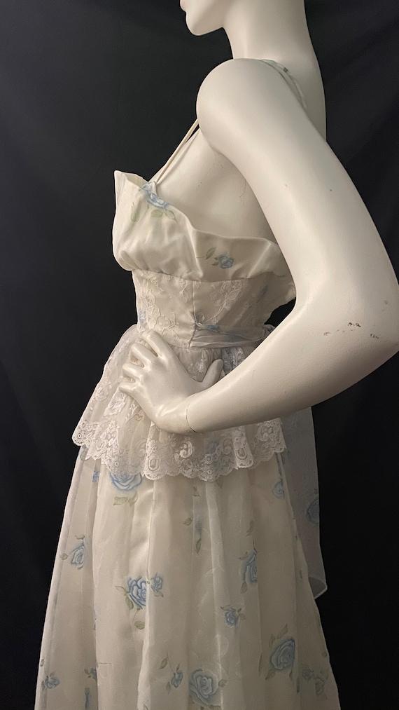 Vintage Prairie Gunne Sax Dress Jessica McClintock