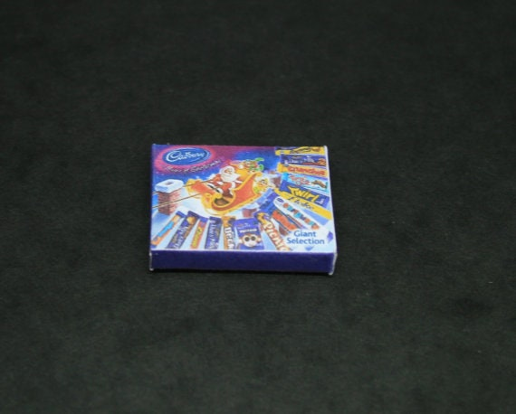 1//12 Scale Christmas Selection Boxes Empty for Dollshouse Miniature Display 06