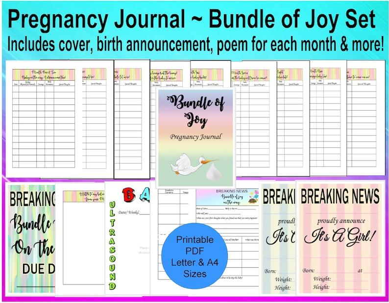 image regarding Printable Pregnancy Journal identified as Being pregnant Magazine Printable, Being pregnant Planner, Printable Being pregnant, , Being pregnant Diary