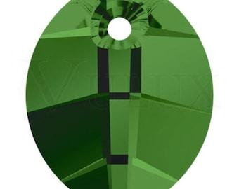 Wholesale Swarovski Pure Leaf 6734  23 MM Fern Green (291)