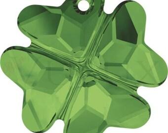 Wholesale Swarovski Clover 6764  23 MM Dark Moss Green (260)