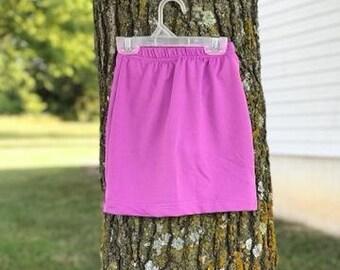 Modest  Girls Exercise Workout Skirt Skort