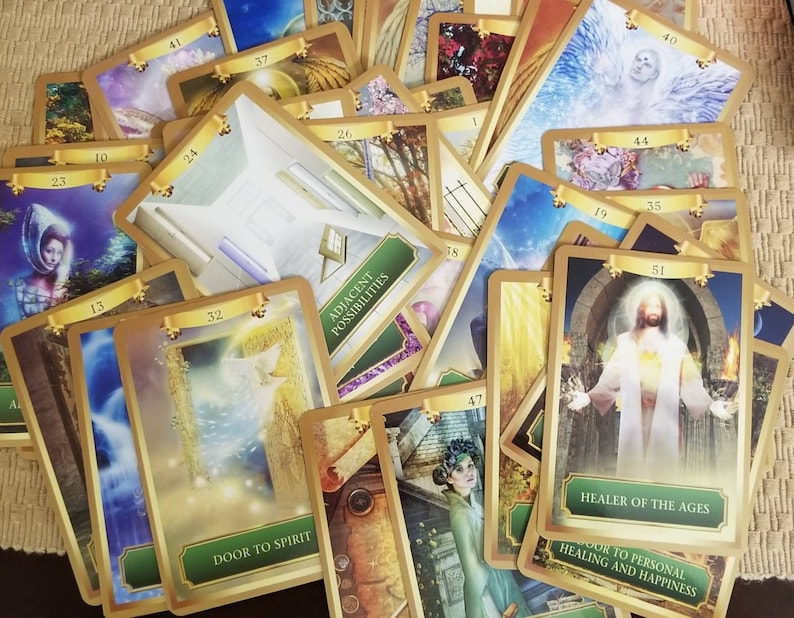 3 card spread with Energy Oracle cards