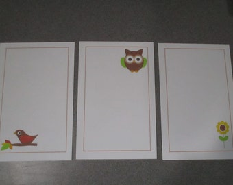 Forest Friends Stationery Set 2