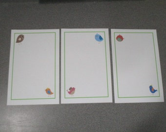Color Birds Stationery Set