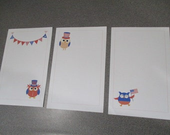 Patriotic Stationery Set 1