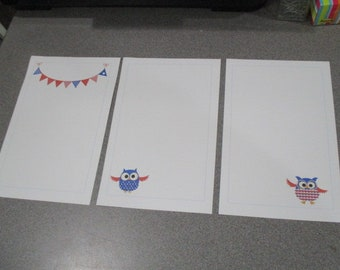 Patriotic Stationery Set 2