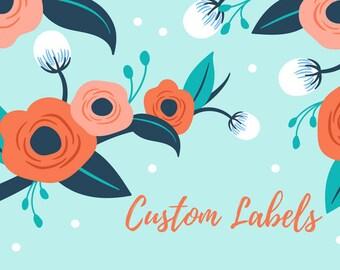 Custom Address Labels Set of 12