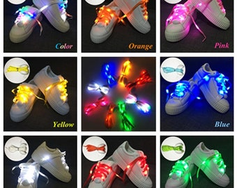 LED shoelaces light